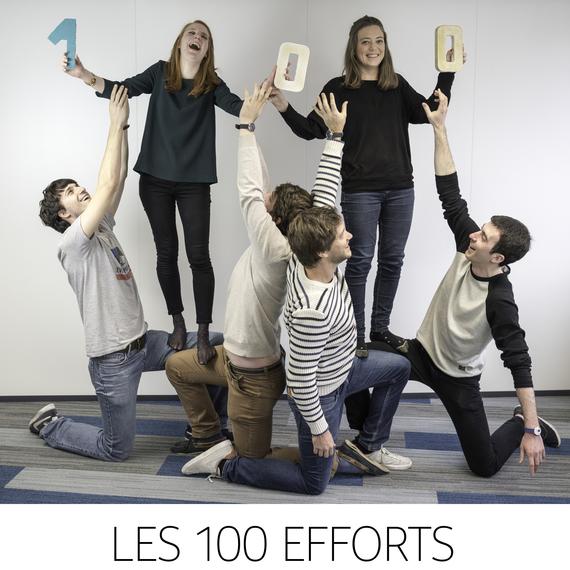 Les 100 Efforts