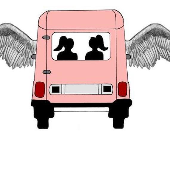 Logo 2 filles et 4 ailes 9