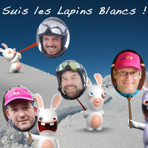 Les lapins blancs