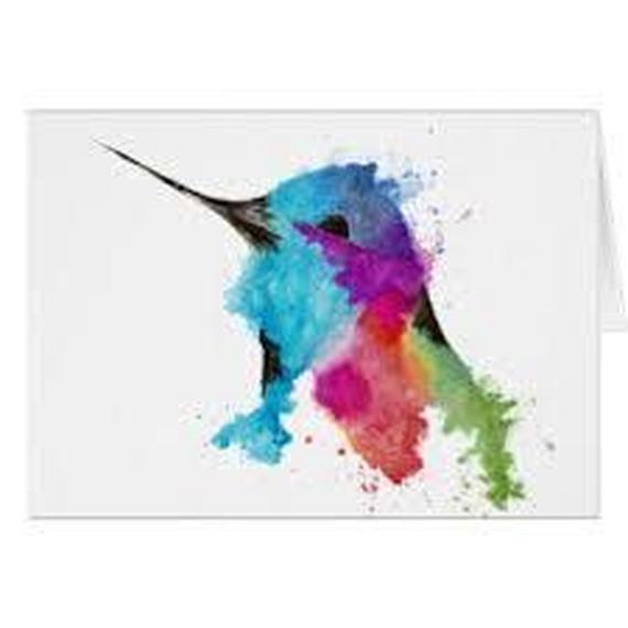 040. les colibris sur la neige