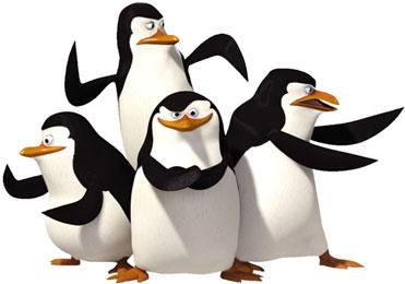 074. LES PINGOUINS