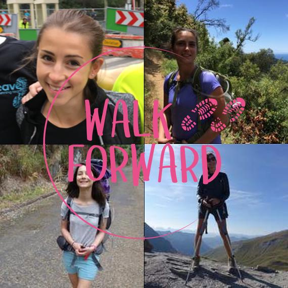 014. Walk Forward : 4 collègues, 4 amies, 4 coéquipières, 1 défi commun !